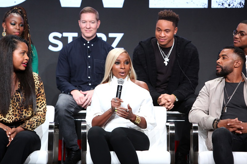 Mary J. Blige is Bringing The Heat In Power Book II