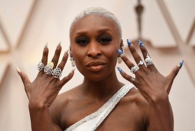Cynthia Erivo's Oscar Nails Are Goals…And For Good Reason