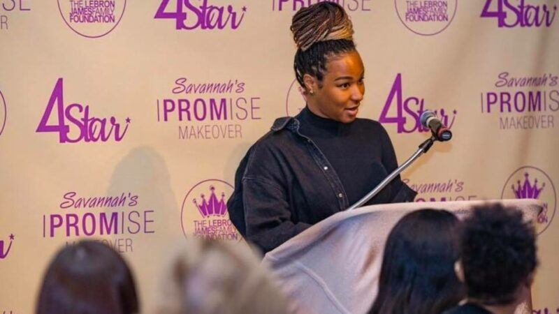 Savannah James Provides Teens With Prom Dresses
